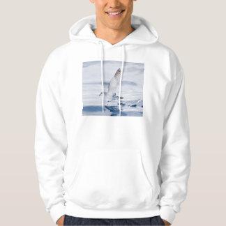Fairy Prion Pachyptila Turtur Sea Bird Running Sweatshirt