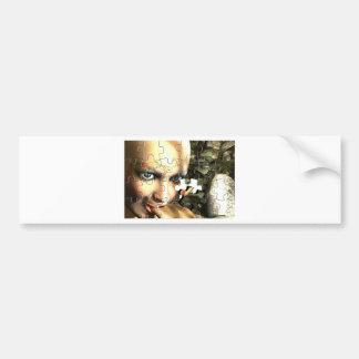Fairy Profile jigsaw Bumper Sticker