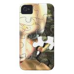 Fairy Profile jigsaw iPhone 4 Case-Mate Case