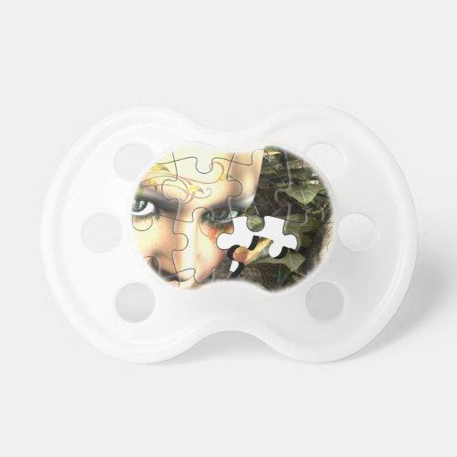 Fairy Profile jigsaw Pacifier
