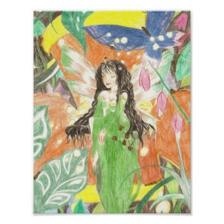 Fairy Queen Art Poster