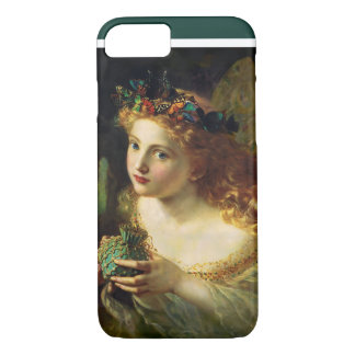 Fairy Queen by Sophie Anderson; Girl and Butterfly iPhone 7 Case
