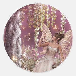 Fairy Queen Classic Round Sticker