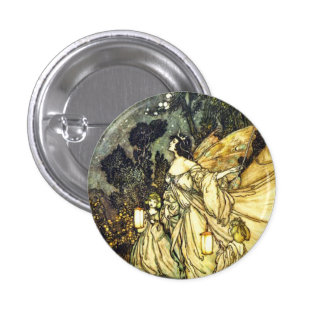 Fairy Queen Pinback Button