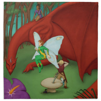 Fairy Quest Napkin