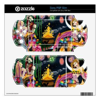 Fairy Rave PSP Slim Skins