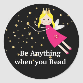 Fairy Reading Sticker