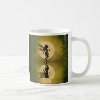 Fairy reflect classic white coffee mug