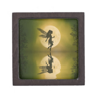 Fairy reflect Jewelry Trinket Keepsake Box