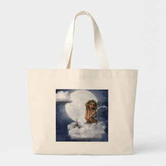 Fairy Rest on a Cloud Tote Bags