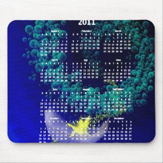 Fairy Ride Mousepad Calendar