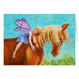 Fairy Rider, Horse Card