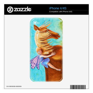 Fairy Rider, Horse Decals For iPhone 4S