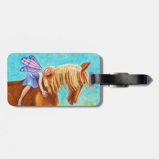 Fairy Rider, Horse Luggage Tag