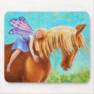 Fairy Rider, Horse Mouse Pad