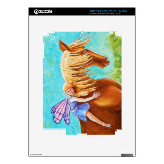 Fairy Rider, Horse Decal For iPad 3