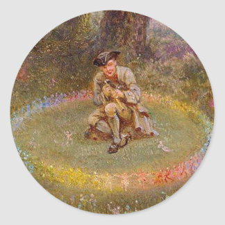 Fairy Ring Classic Round Sticker