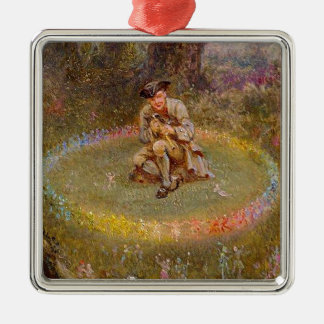 Fairy Ring Metal Ornament