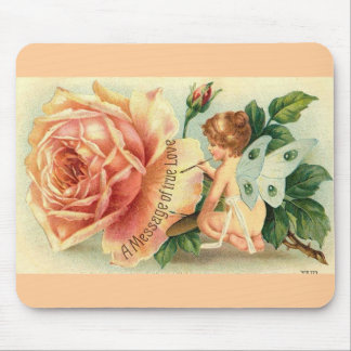 Fairy rose mousepad