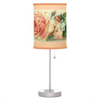 Fairy rose table lamp