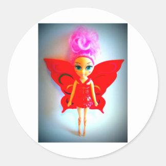 Fairy Round Sticker