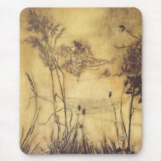 Fairy s Tightrope by Arthur Rackham Vintage Art Mousepad