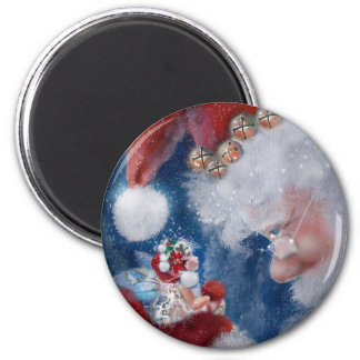 Fairy & Santa Magnet