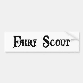 Fairy Scout Bumper Sticker