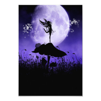 Fairy Silhouette 2 Card