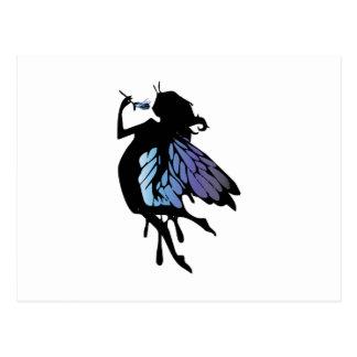 Fairy Silhouette Postcards