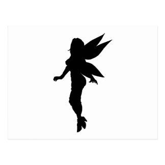 Fairy Silhouette Postcard