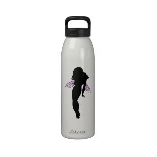 Fairy Silhouette Drinking Bottles
