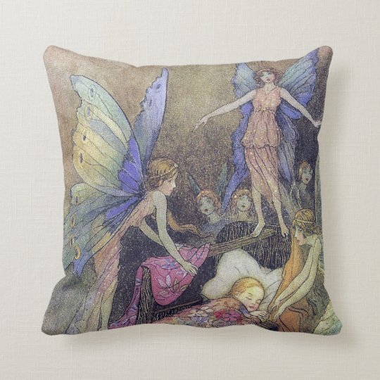 Fairy Singing Baby to Sleep American MoJo Pillow