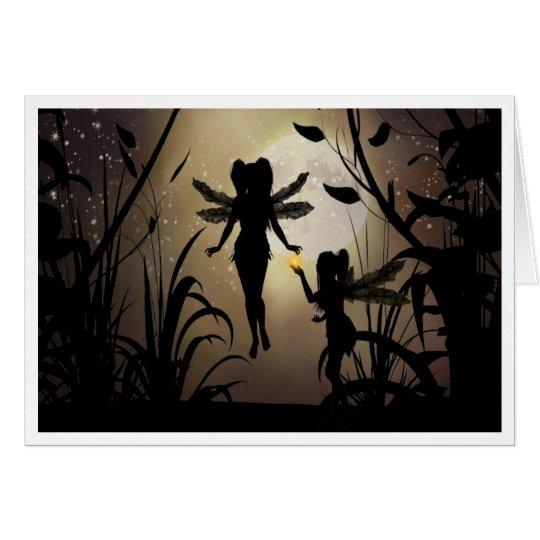 Fairy sister magic card