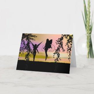 Fairy Sisters card