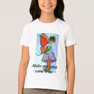 fairy sitting on mushroom T-Shirt