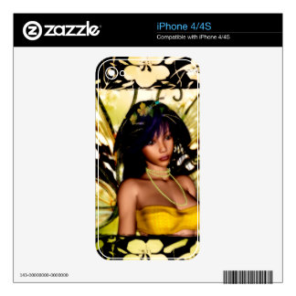 Fairy Skin 2 Decals For iPhone 4