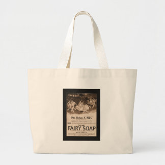 Fairy Soap Large Tote Bag
