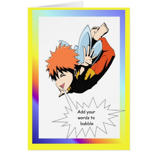 Fairy speech bubble, Trainee superhero Card