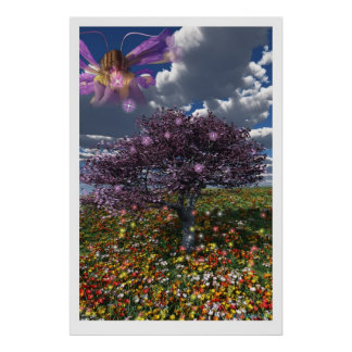 Fairy Spring Poster