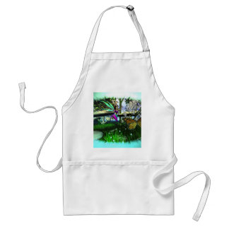 Fairy Springtime-Playing Adult Apron