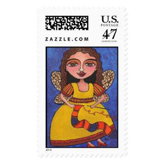 Fairy - stamp
