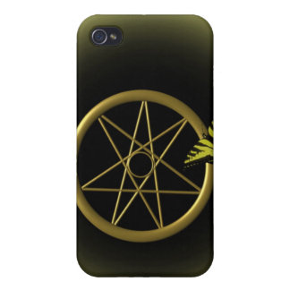 Fairy Star in Gold iPhone 4 Cover
