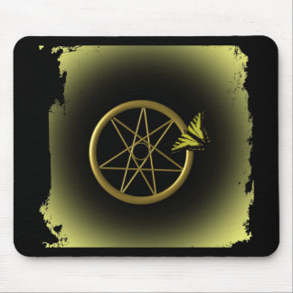 Fairy Star in Gold Mouse Pad