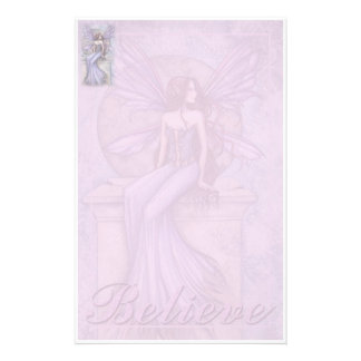 Fairy Stationary 'Believe' by Molly Harrison Stationery