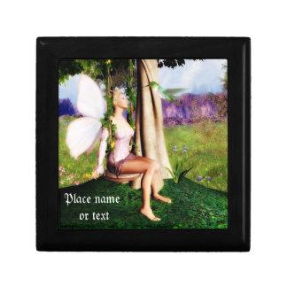 Fairy swing trinket box