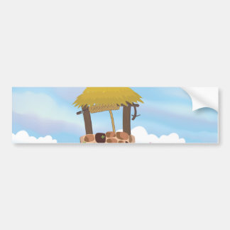 Fairy Tail Well Wishing Well Bumper Sticker