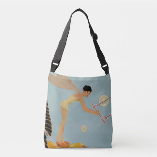 """Fairy Takes Flight"" Cross-Body Tote Bag"