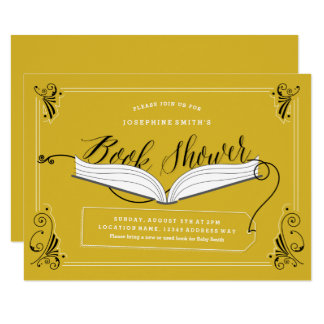 Fairy Tale Baby Shower Book Shower Invitation