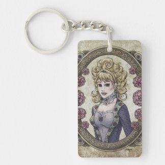 "Fairy Tale ""Beauty"" Fantasy Art Keychain #2"